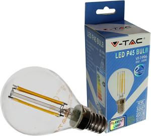 LED Bulblight E14 4W Warmwei�,400lm, 300�, Retro Design