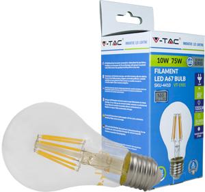 LED Bulblight E27 10W Naturw.,1055lm, 300�, Retro Design