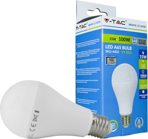 LED Bulblight E27 15W Kaltwei�,SMD Chip, 1500lm, 130�