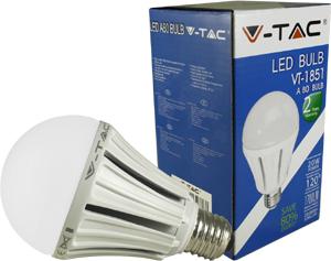 LED Bulblight E27 20W Kaltwei�,1700lm, 120�, 80x136mm