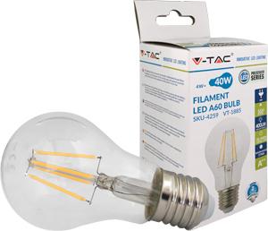 LED Bulblight E27  4W Warmwei�,450lm, 300�, Retro Design