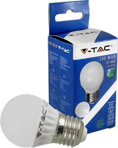 LED Bulblight E27  4W Warmwei�,300lm, 180�, P45