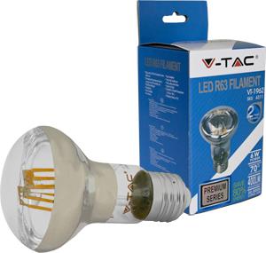 LED Bulblight E27  6W Warmwei�,400lm, 70�, Retro Design