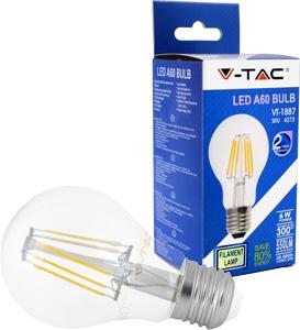 LED Bulblight E27  6W Warmwei�,550lm, 300�, Retro Design
