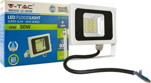 LED Fluter 10W Naturw. IP65,800lm Leuchtkraft, Weiß