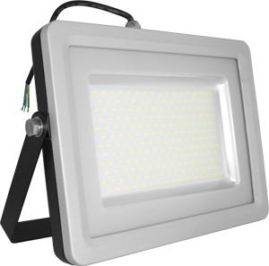 LED Fluter100W Naturw. IP65,8000lm, Black/Silver