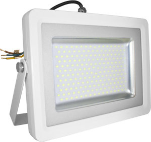 LED Fluter100W Warmw. IP65,8000lm Leuchtkraft, Wei�
