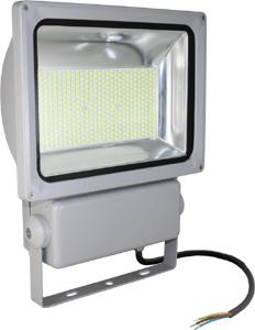 LED Fluter300W Kaltwei� IP65,24000lm Leuchtkraft, Grau