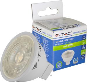 LED Spot  GU5.3 7W Kaltwei�,SMD Chip, 550lm, 38�, 12V