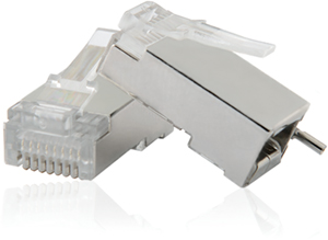 Modular Plug RJ45,8P8C Shielded with DWT