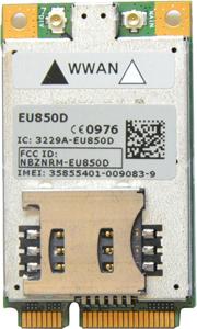 Novatel 3G Interface,für die Nutzung mit Mikrotik