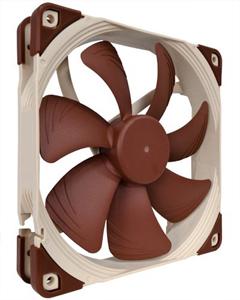 Lüfter 12VDC 140x140x25mm,12,2 bis max.24,6dBA, 1500RPM