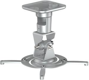 Projektor Halterung, bis 15kg,bis 310mm, +/-25°, Silber