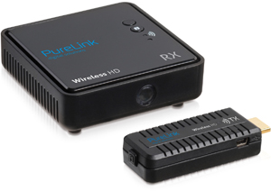 Wireless HDMI Pocket Extender,1080p FullHD, Set, schwarz